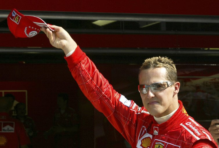 Michaelis Schumacheris (nuotr. SCANPIX)