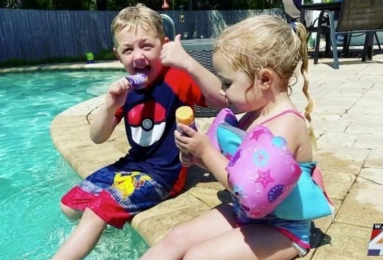 Neįtikėtina istorija: 7-metis išgelbėjo savo tėtį ir seserį nuo mirties   (nuotr. facebook.com)
