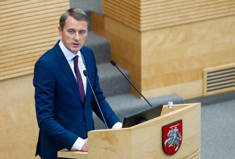 Žygimantas Vaičiūnas (Paulius Peleckis/Fotobankas)