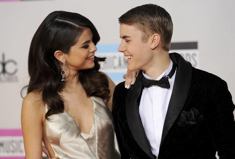 Selena Gomez ir Justina Bieberis (nuotr. SCANPIX)