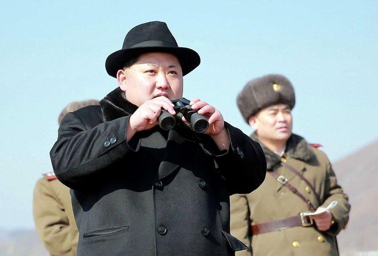 Kim Jong Unas įsakė ruoštis branduoliniam smūgiui (nuotr. SCANPIX)