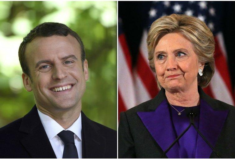 Kodėl Macronas laimėjo, o Clinton patyrė nesėkmę? (nuotr. SCANPIX)