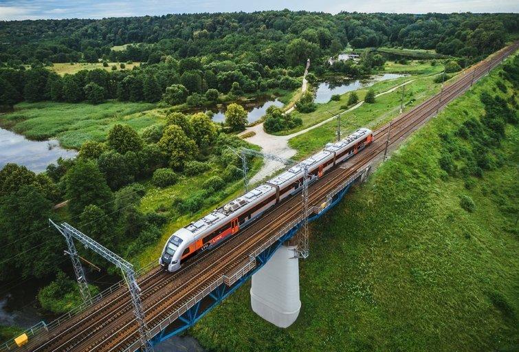 Rail Baltica statybos vėluoja (nuotr. Organizatorių)
