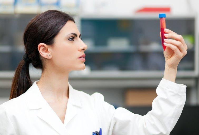 Kraujo testas (nuotr. Shutterstock.com)