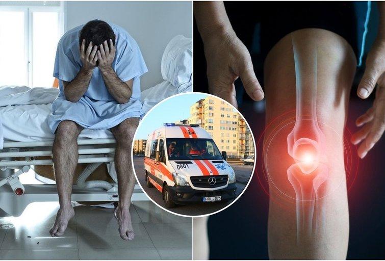 Nekaltas kelio skausmas uteniškiui slėpė skaudžią ligą: dabar nori įspėti kitus