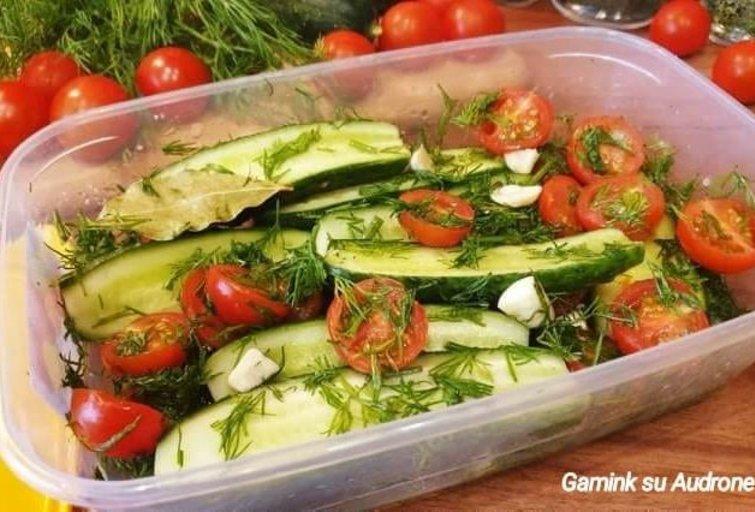 Sausuoju būdu raugtos daržovės (Nuotr. Gamink su Audrone)