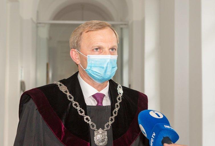 Teisėjas Algimantas Valantinas (nuotr. Broniaus Jablonsko)