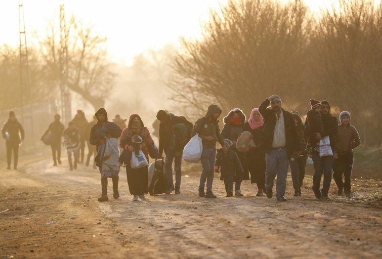 pabėgėliai (nuotr. SCANPIX)