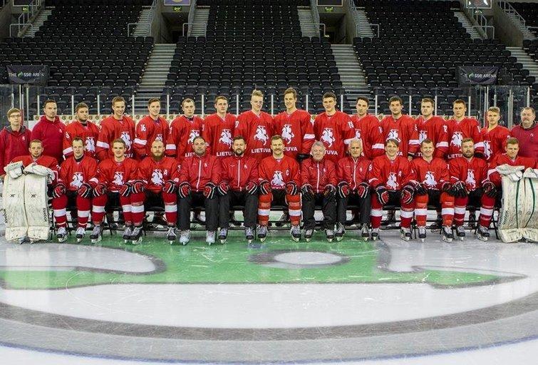 Lietuvos ledo ritulio rinktinė (nuotr. hockey.lt)