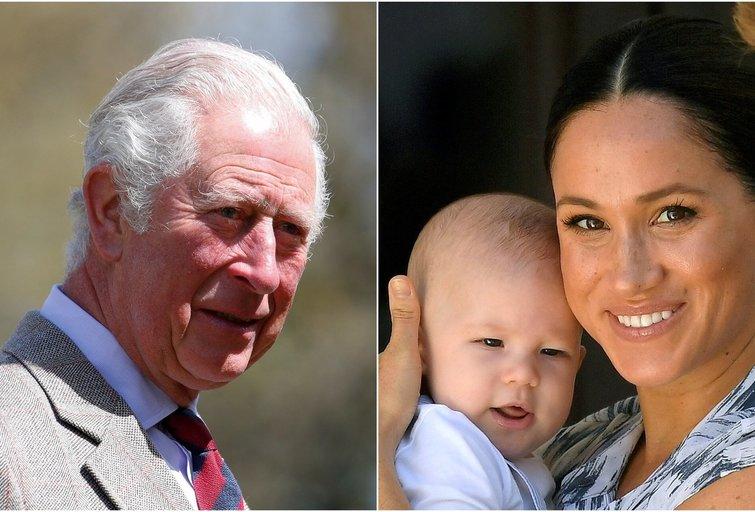Princas Čarlzas savo anūką matė vos du kartus (nuotr. SCANPIX)