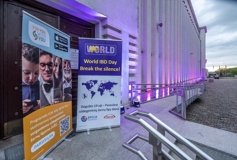 Minint pasaulinę lėtinių žarnyno ligų dieną