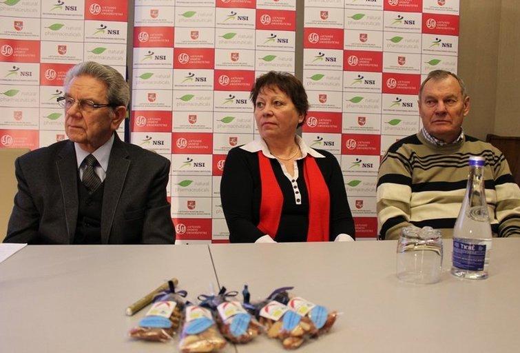 Vladas Garastas, Angelė Rupšienė ir Modestas Paulauskas (nuotr. Organizatorių)