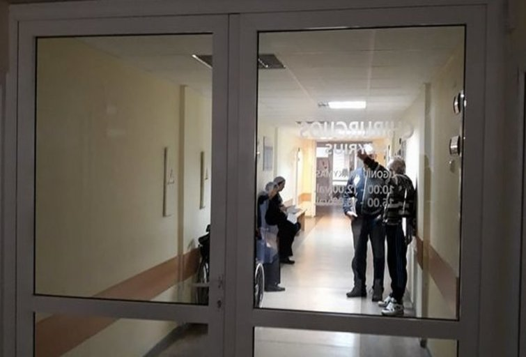 Rokiškio ligoninė (nuotr. tv3.lt)