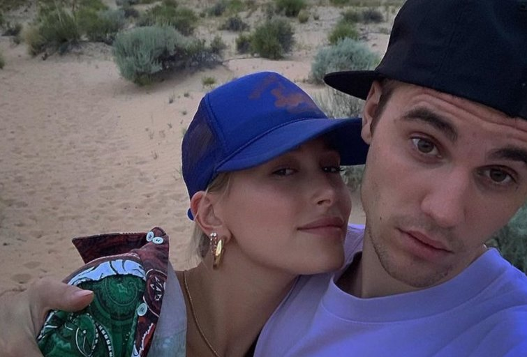 Hailey Baldwin ir Justin Bieber (nuotr. Instagram)