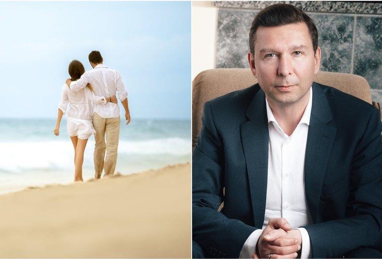 Andrius Kaluginas apie santykius  (nuotr. asm. archyvo)