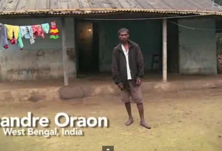Ch. Oraonas (nuotr. Barcroft TV) (nuotr. YouTube)