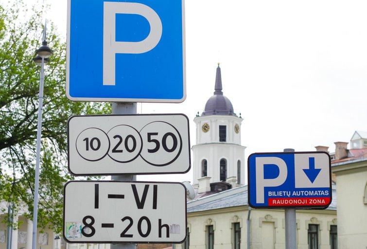 Automobilių parkavimas  (nuotr. fotobankas.lt)