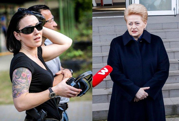 Simona Broks ir Dalia Grybauskaitė (tv3.lt fotomontažas)