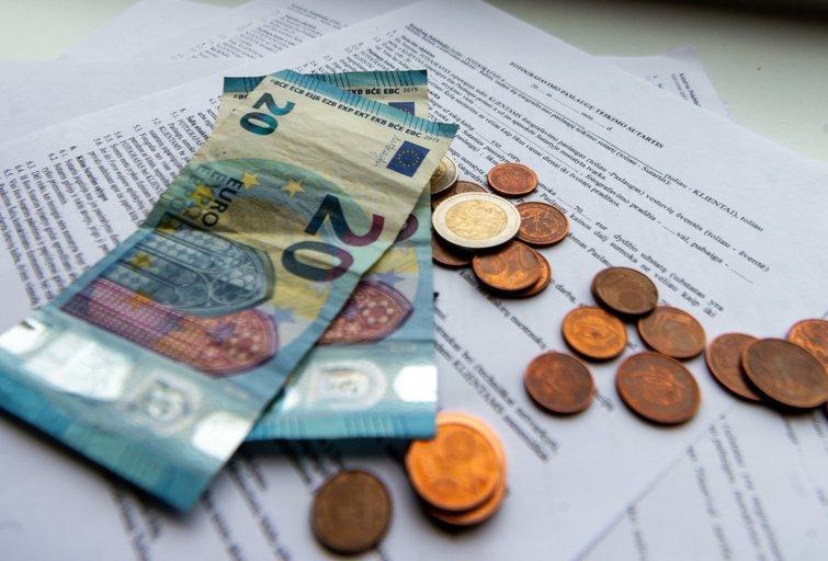 Pinigai, eurai (K. Polubinska/fotodiena.lt nuotr.)
