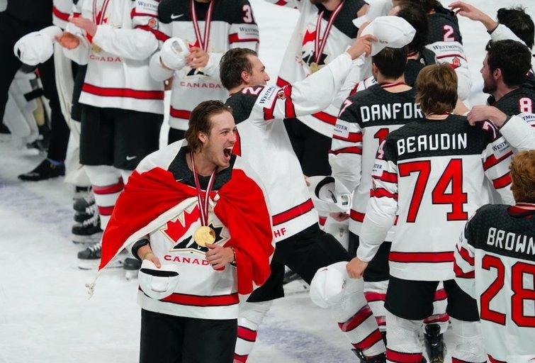 Kanada triumfavo finale (nuotr. SCANPIX)
