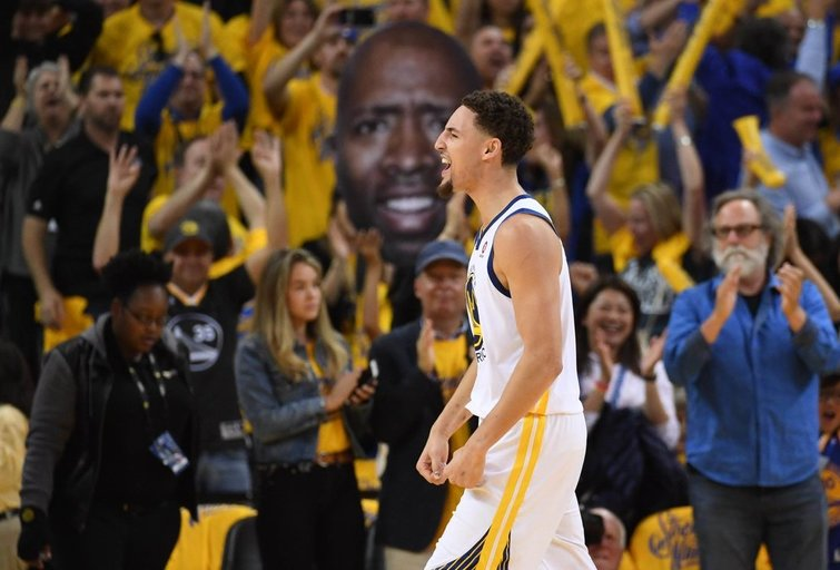 """Golden State Warriors"" – Hjustono ""Rockets"" 115:86 (nuotr. SCANPIX)"