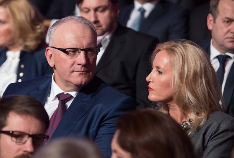 Jonas Pinskus ir Živilė Pinskuvienė (nuotr. BFL)