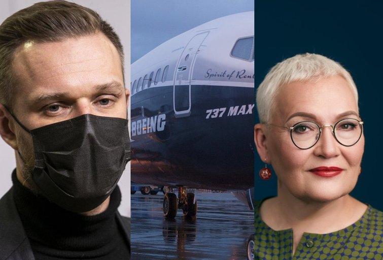 Lėktuvo techniniai nesklandumai (tv3.lt koliažas)