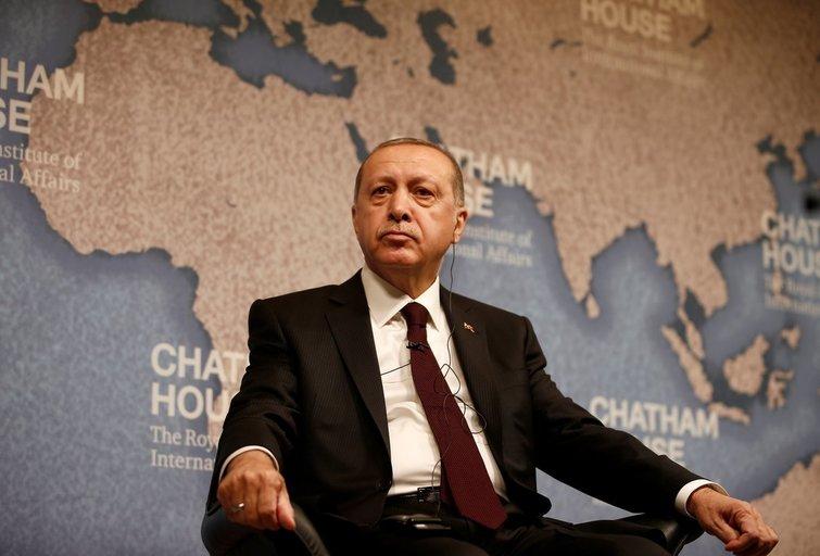 Turkijos prezidentas Recepas Tayyipas Erdoganas (nuotr. SCANPIX)