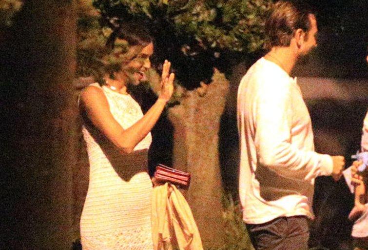 Aktoriaus Bradley Cooperio mylimoji Irina Shayk laukiasi? (nuotr. Vida Press)