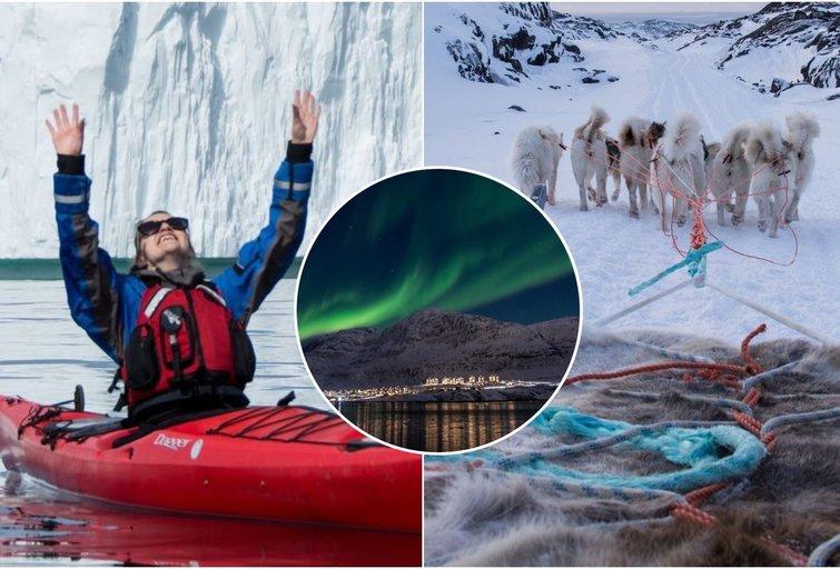 Gyvenimas Grenlandijoje (tv3.lt fotomontažas)