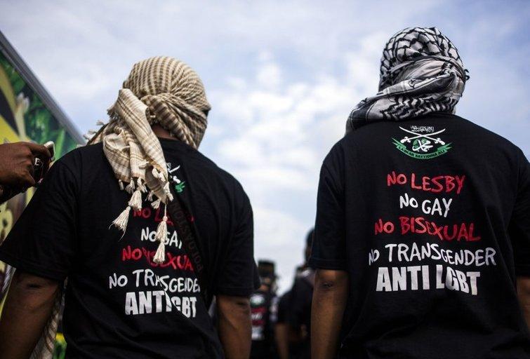 Indonezija: mūsų šalyje nėra vietos homoseksualams (nuotr. SCANPIX)