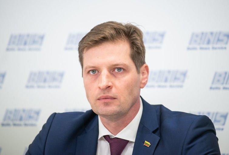 Aplinkos ministras Kęstutis Mažeika (nuotr. Fotodiena/Justino Auškelio)