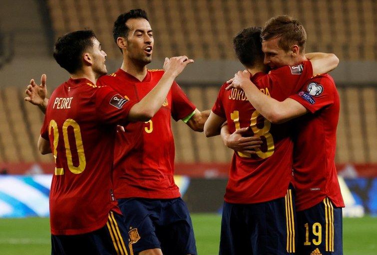 Ispanijos futbolo rinktinė (nuotr. SCANPIX)