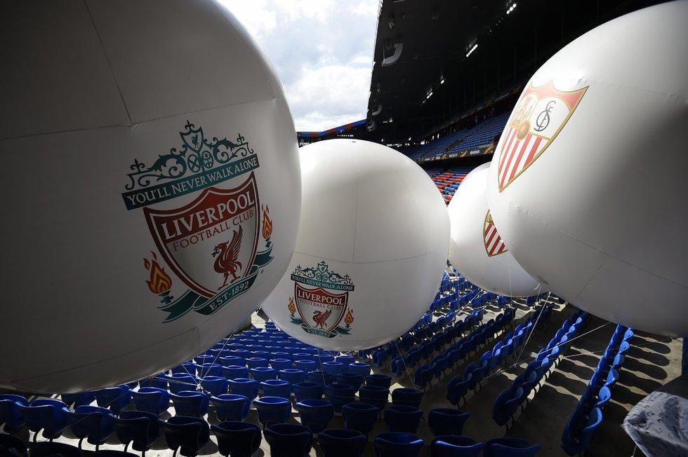 "Europos lygos finale - ""Liverpool"" ir ""Sevilla"" dvikova (nuotr. SCANPIX)"