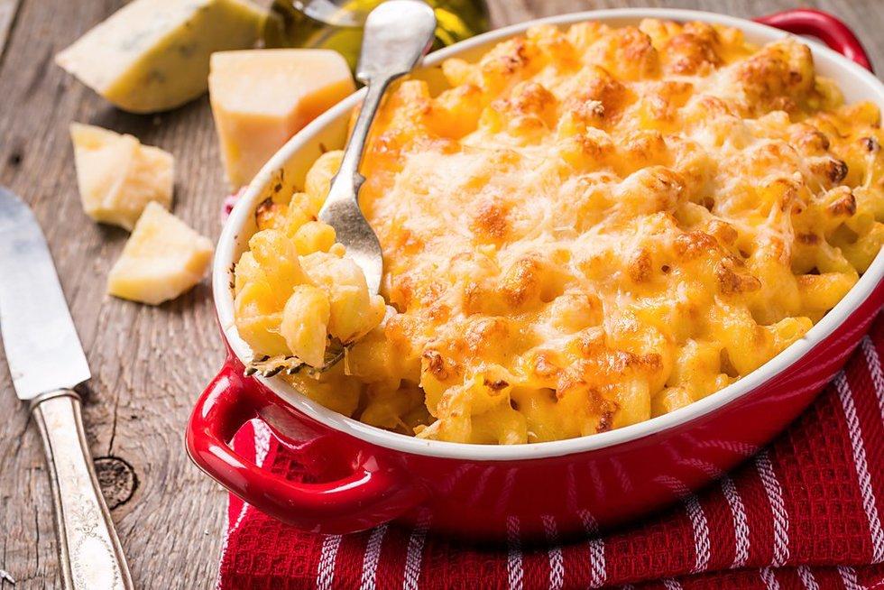Makaronai su sūriu (Nuotr. shutterstock.com)