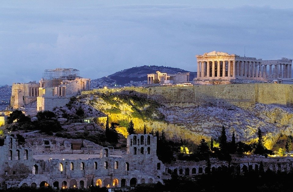 Akropolis (nuotr. pixabay)