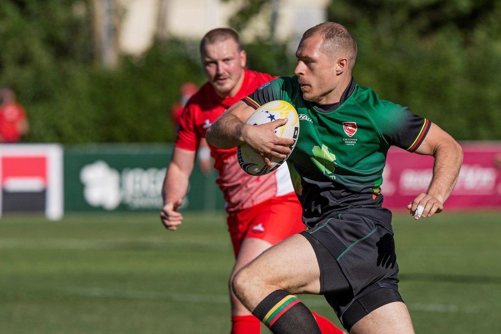 Europos čempionato turą Lietuvos regbininkai baigė triuškinama pergale prieš lenkus.