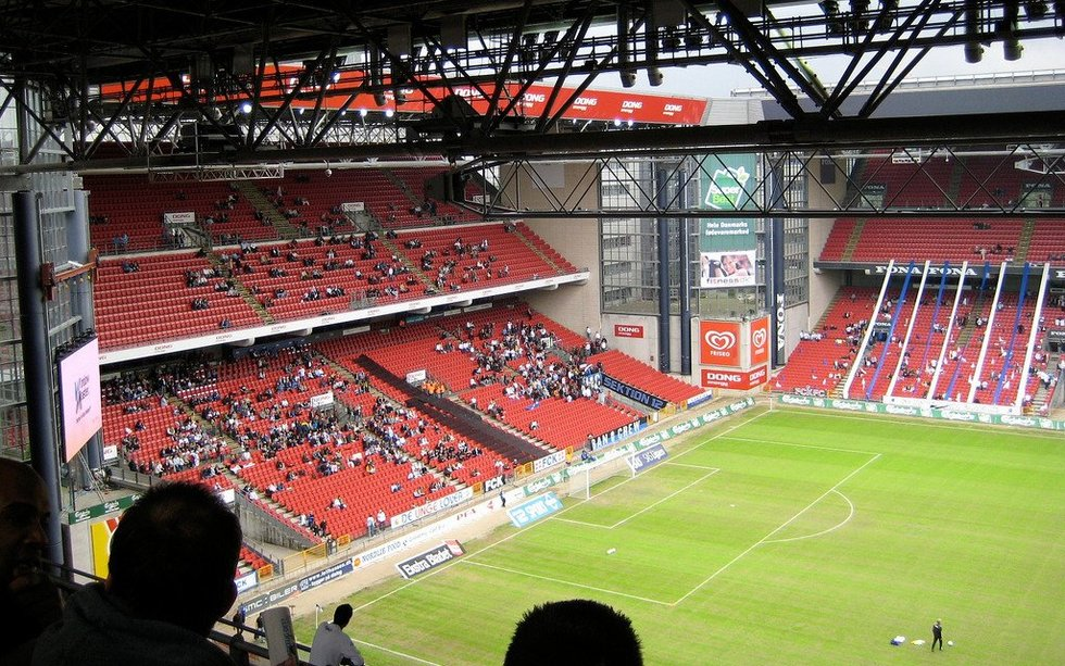 Parken stadionas Kopenhagoje