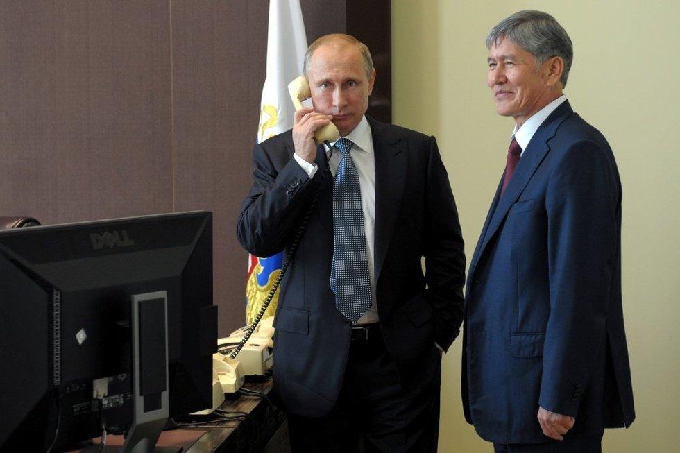 """Recepas Erdoganas ir Vladimiras Putinas: vienas """"beveik atsiprašė"""", kitas – """"beveik atleido""""? (nuotr. SCANPIX)"""