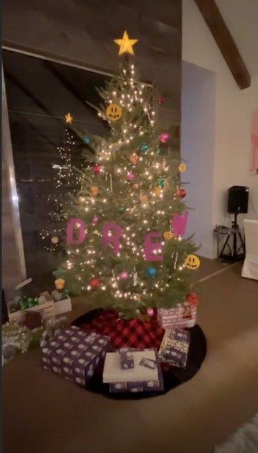 Justino Bieberio kalėdinė eglutė
