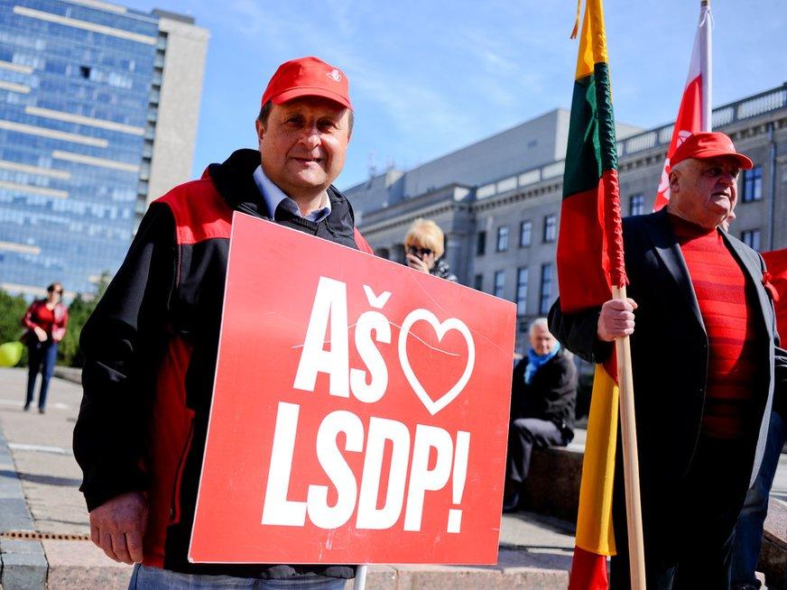 Lietuvos socialdemokratų partija (nuotr. Fotodiena.lt)