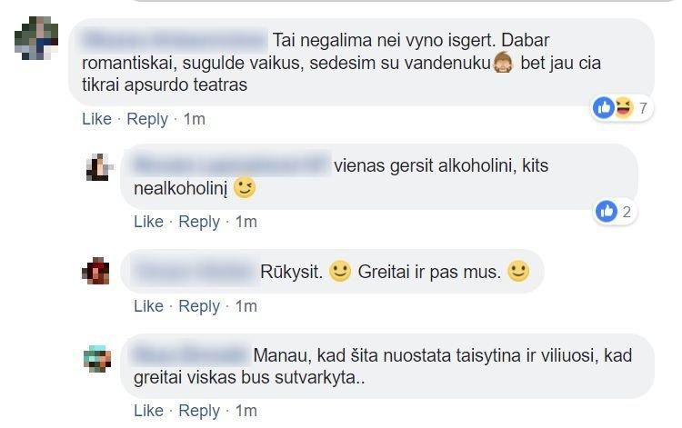 Tėvų susirašinėjimas feisbuke (nuotr. facebook.com)
