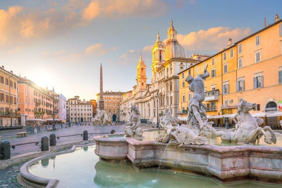 Piazza Navona aikštė
