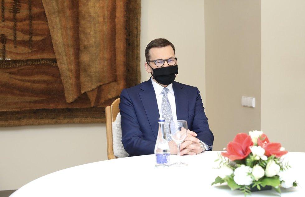 Ingrida Šimonytė susitinka su Lenkijos Ministru Pirmininku M. Morawieckiu