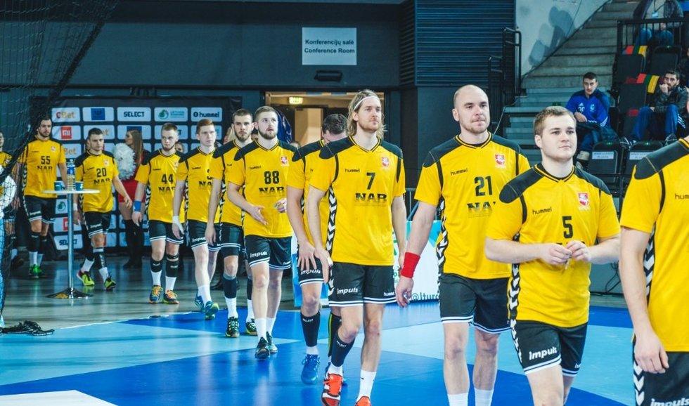 Lietuvos nacionalinė vyrų rankinio rinktinė (nuotr. Organizatorių)
