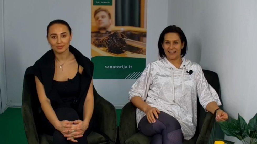 Gabrielė Rutkauskienė-Vasha ir Irena Starošaitė