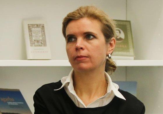 LNF prezidentė Dovilė Juodkaitė. Sigitos Inčiūrienės nuotr.