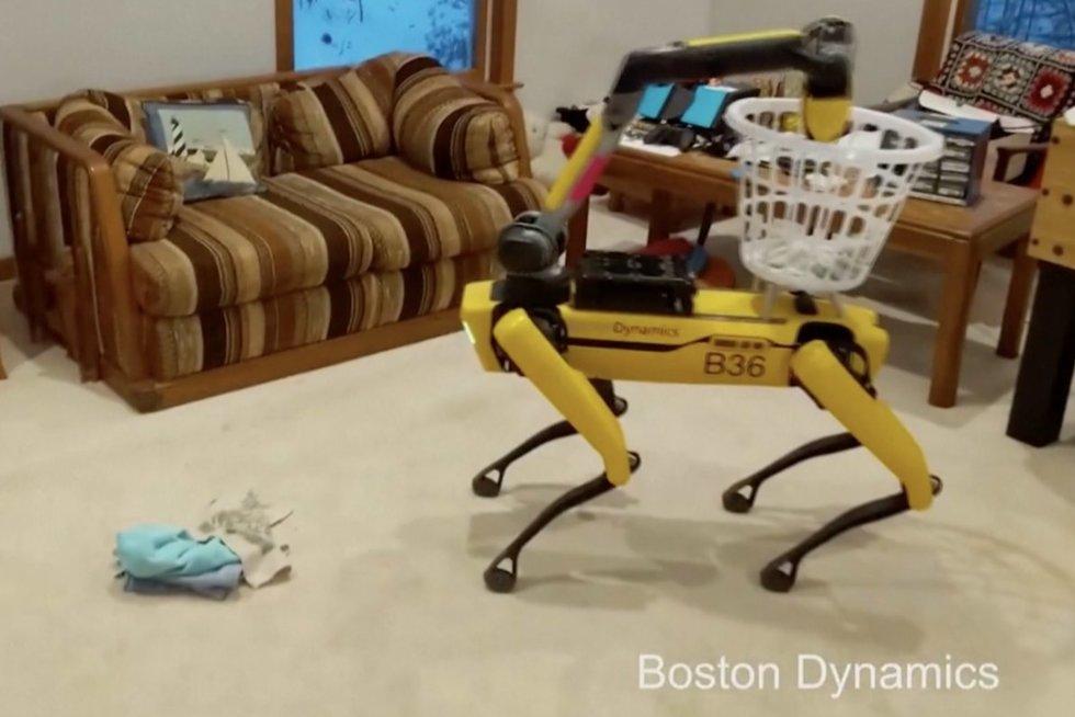 Robotukas (nuotr. stop kadras)