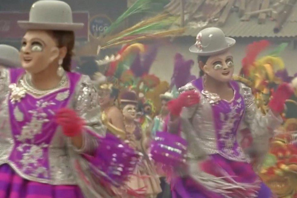 Ginčas tarp kaimynių – Bolivija ir Peru nesutaria dėl tautiško šokio (nuotr. stop kadras)