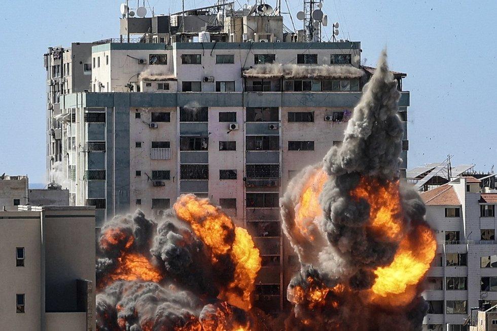Izraelio ir Palestinos konfliktas toliau kaista: nuo raketų smūgių žūsta dešimtys vaikų (nuotr. SCANPIX)
